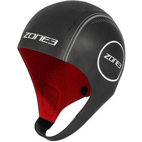 Zone3 Heat-Tech Neoprene Swim Cap L, black/silver/red